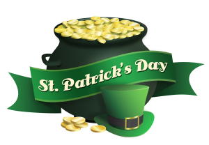 st patricks day pot of gold 300x208 - St. Patrick's Day Golf Shop Sale