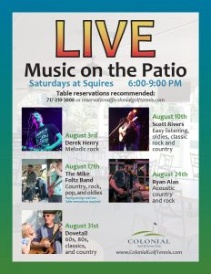 Music on Patio August 2019 1 232x300 - Music on the Patio