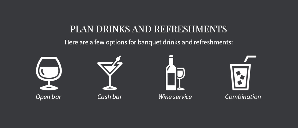 04 Plan Drinks and Refreshments - How to Plan a Banquet
