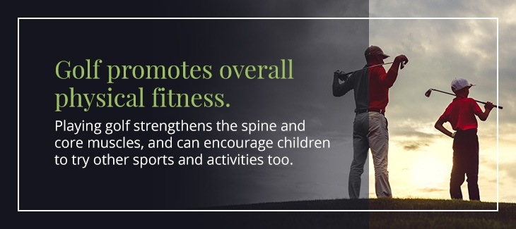 01 golf promotes physical fitness - Top Reasons Children Should Play Golf
