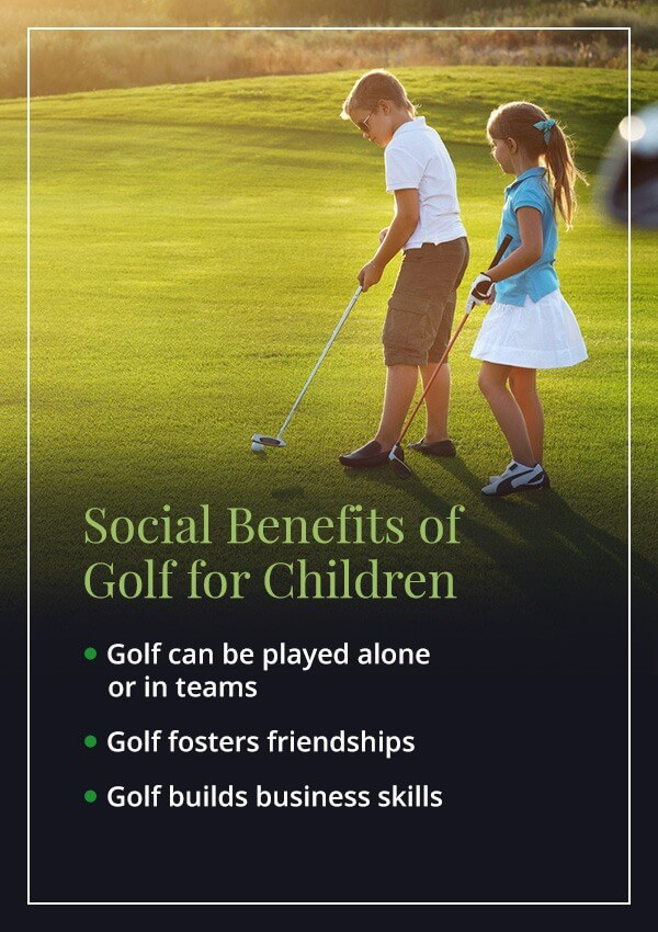 02 social benefits for children - Top Reasons Children Should Play Golf