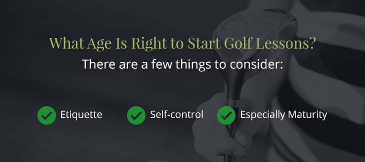 04 what age is right to start - Top Reasons Children Should Play Golf