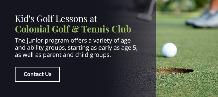05 kids golf lessons colonial golf - Top Reasons Children Should Play Golf