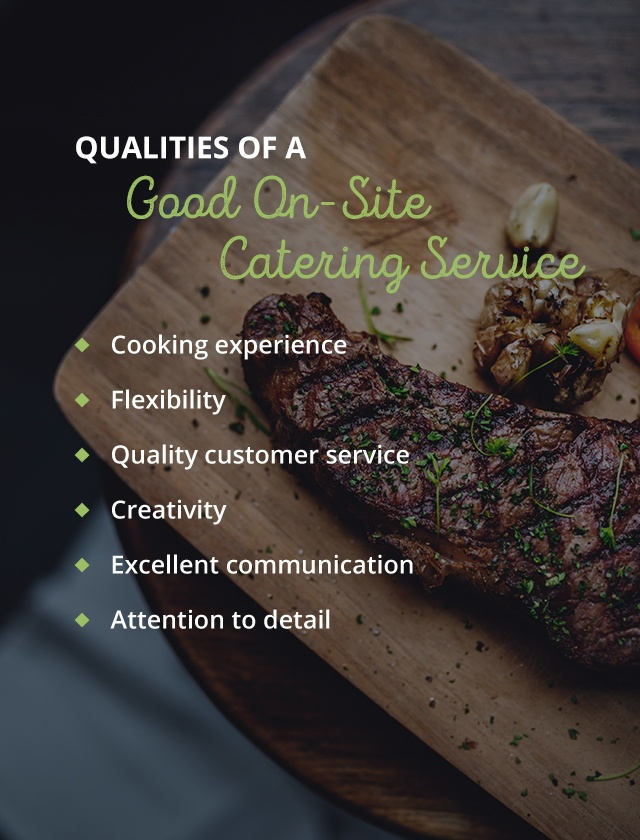 01 qualities good caterer - How to Choose a Wedding Catering Service