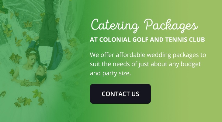 05 wedding packages colonial golf club - How to Choose a Wedding Catering Service
