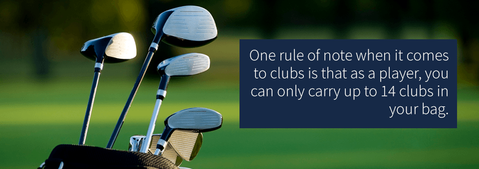 What equipment do i need to play golf