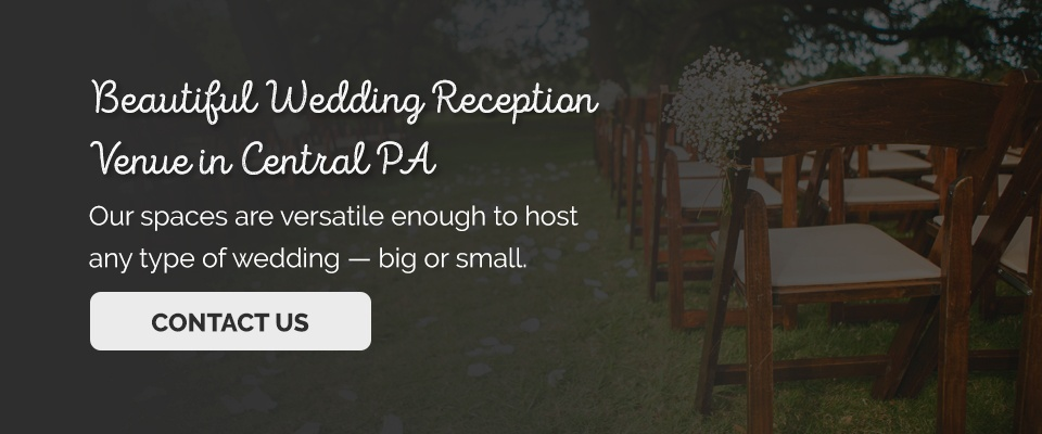 Wedding reception venues in central pa