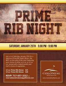 Prime Rib Night January 232x300 - Prime Rib Night