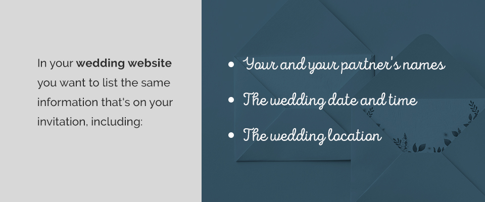 02 Create a Wedding Website - 8 Tips for Creating Social Media Buzz for Your Wedding