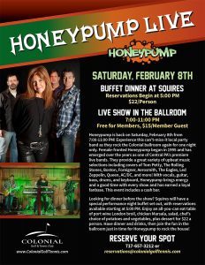 Live Music Honeypump Flier 2020 232x300 - Honeypump Live