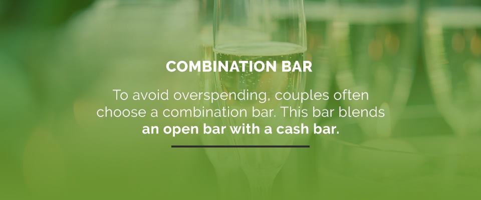 04Combination Bar - Wedding Menu Planning