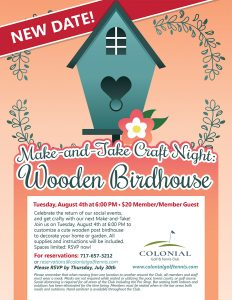 August Flier Birdhouse Painting 232x300 - Birdhouse Making