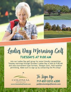 Ladies Day Tuesday AM 232x300 - Ladies Day Morning Golf