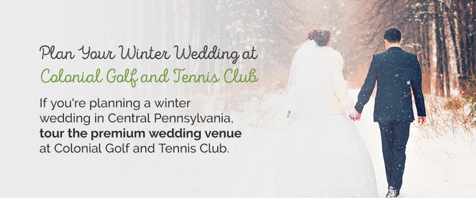 05 Plan your winter wedding at Colonial Golf and Tennis Club - Christmas Themed Wedding Ideas and Inspiration