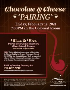 Chocolate and cheese pairing flyer 232x300 - Cheese & Chocolate Pairings