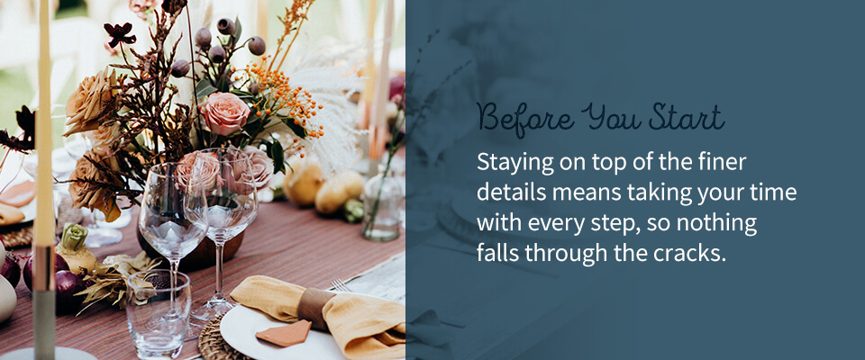 02 Before you start - How to Plan a Wedding