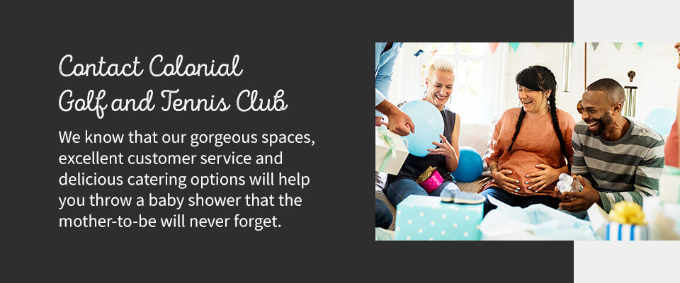 03 Contact Colonial Golf and Tennis Club - Baby Shower Venue in Harrisburg, PA